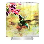 Submerged Into Sweetness Shower Curtain