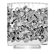 Substance Shower Curtain