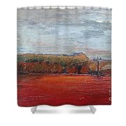 Suburb In October Shower Curtain