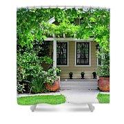 Suburban House Hayward California 17 Shower Curtain