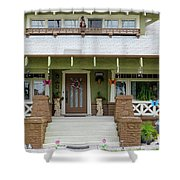 Suburban Arts And Crafts Style House Hayward California 15 Shower Curtain