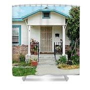 Suburban House Hayward California 20 Shower Curtain