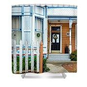 Suburban House Hayward California 9 Shower Curtain