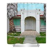 Suburban Surveillance House On Montgomery Avenue Hayward California 6 Shower Curtain