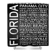 Subway Florida State Square Shower Curtain