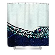 Subway In The Sky Shower Curtain