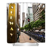 Subway Nyc Shower Curtain