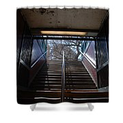 Subway Stairs To Freedom Shower Curtain