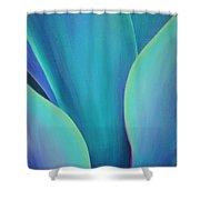 Succulent Embrace Shower Curtain by Sandi Whetzel