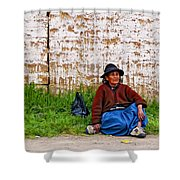 Such A Long Journey II Shower Curtain
