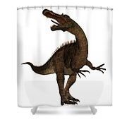 Suchimimus Profile Shower Curtain
