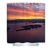 Sucia Sunset Shower Curtain