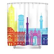 Sucre Skyline Pop Shower Curtain