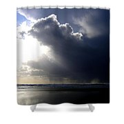 Sudden Squall Shower Curtain