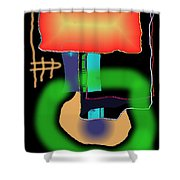 Suddenclicks Shower Curtain