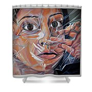 Suffocation  Shower Curtain