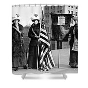 Suffragettes, C1910 Shower Curtain