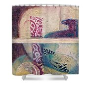 Suffusion Shower Curtain