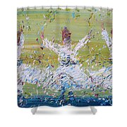 Sufi Whirling Shower Curtain