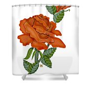Sugar And Spice Shower Curtain
