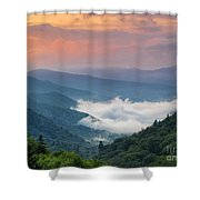 Sugar Bed. Shower Curtain