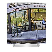 Sugar Breakfast  Shower Curtain