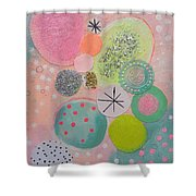 Sugar Buns Shower Curtain