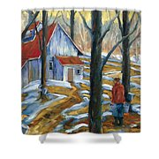 Sugar Bush Shower Curtain