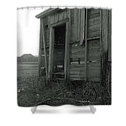Sugar Cane Shack Shower Curtain