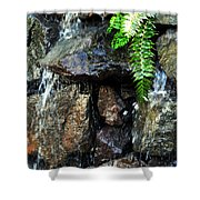 Sugar From The Sun Waterfall Shower Curtain