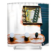 Sugar Kane Telecaster Shower Curtain