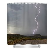 Sugar Loaf Strike 2 Shower Curtain
