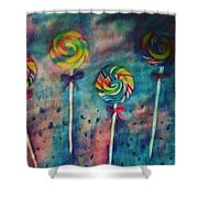Sugar Rush  Shower Curtain