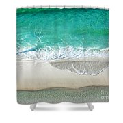 Sugar Sand Beach Shower Curtain