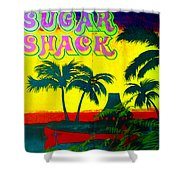 Sugar Shack Shower Curtain