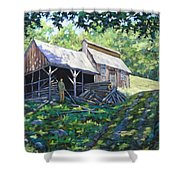 Sugar Shack In July Shower Curtain
