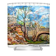 Sugarbowl On The Brandywine Shower Curtain