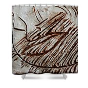 Sugared - Tile Shower Curtain