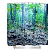 Sugarloaf Mountain Trail Shower Curtain