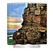 Sugarloaf Sunrise Shower Curtain