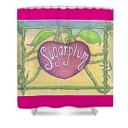 Sugarplum #2 Shower Curtain