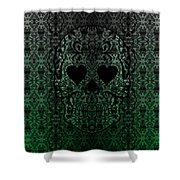Sugarshock Lime Shower Curtain