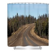 Suicide Hill Shower Curtain