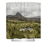 Suilven Mountain Shower Curtain