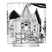 Sullivan House Shower Curtain