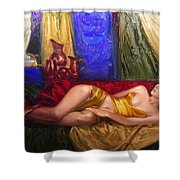 Sultan Spouse Shower Curtain