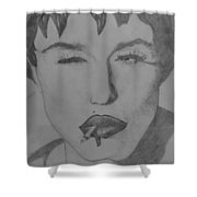 Sultry Madonna Shower Curtain