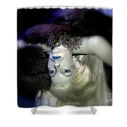 Sultry Simone Shower Curtain