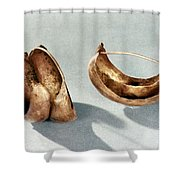 Sumerian Jewelry Shower Curtain