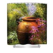 Summer - Landscape - The Urn Shower Curtain